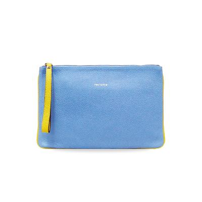 simple clutch skyblue